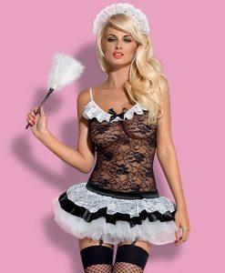 Секси костюм на прислужница Obsessive