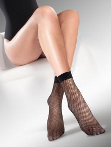 Мрежести къси чорапи